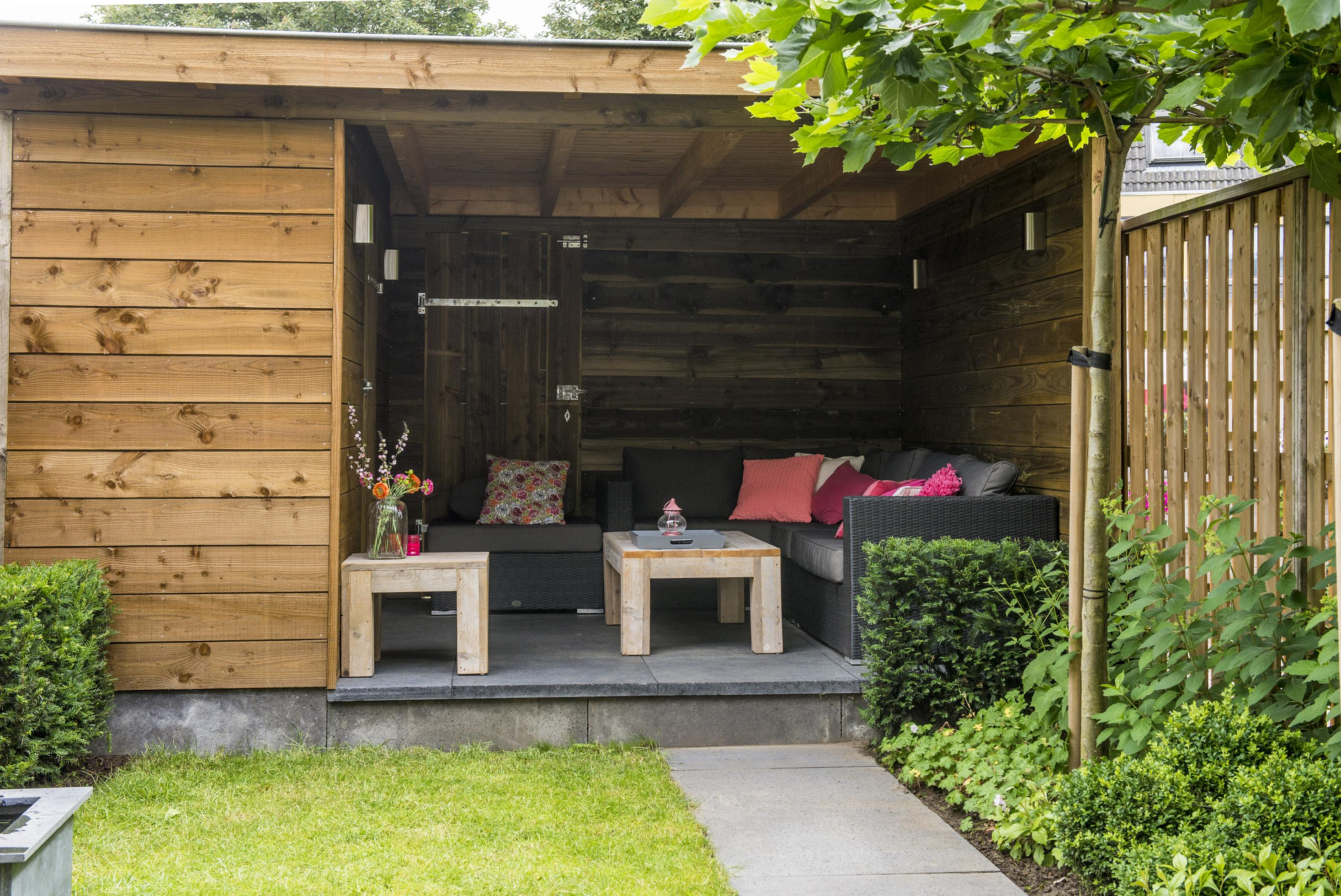 achtertuin dijkman tuinen. Black Bedroom Furniture Sets. Home Design Ideas